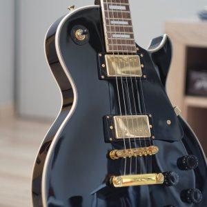guitar, electric guitar, les paul